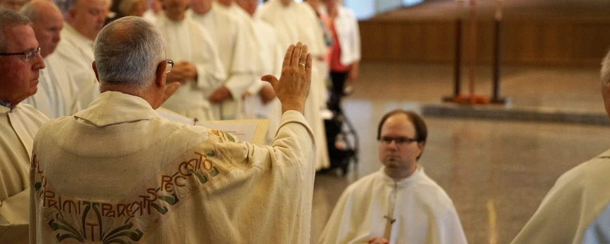 jeff himes professes solemn vows