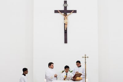 catholic priests in growing religious orders